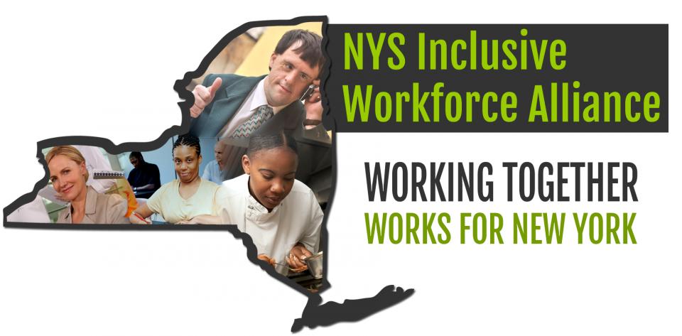 New York State inclusive workforce alliance logo